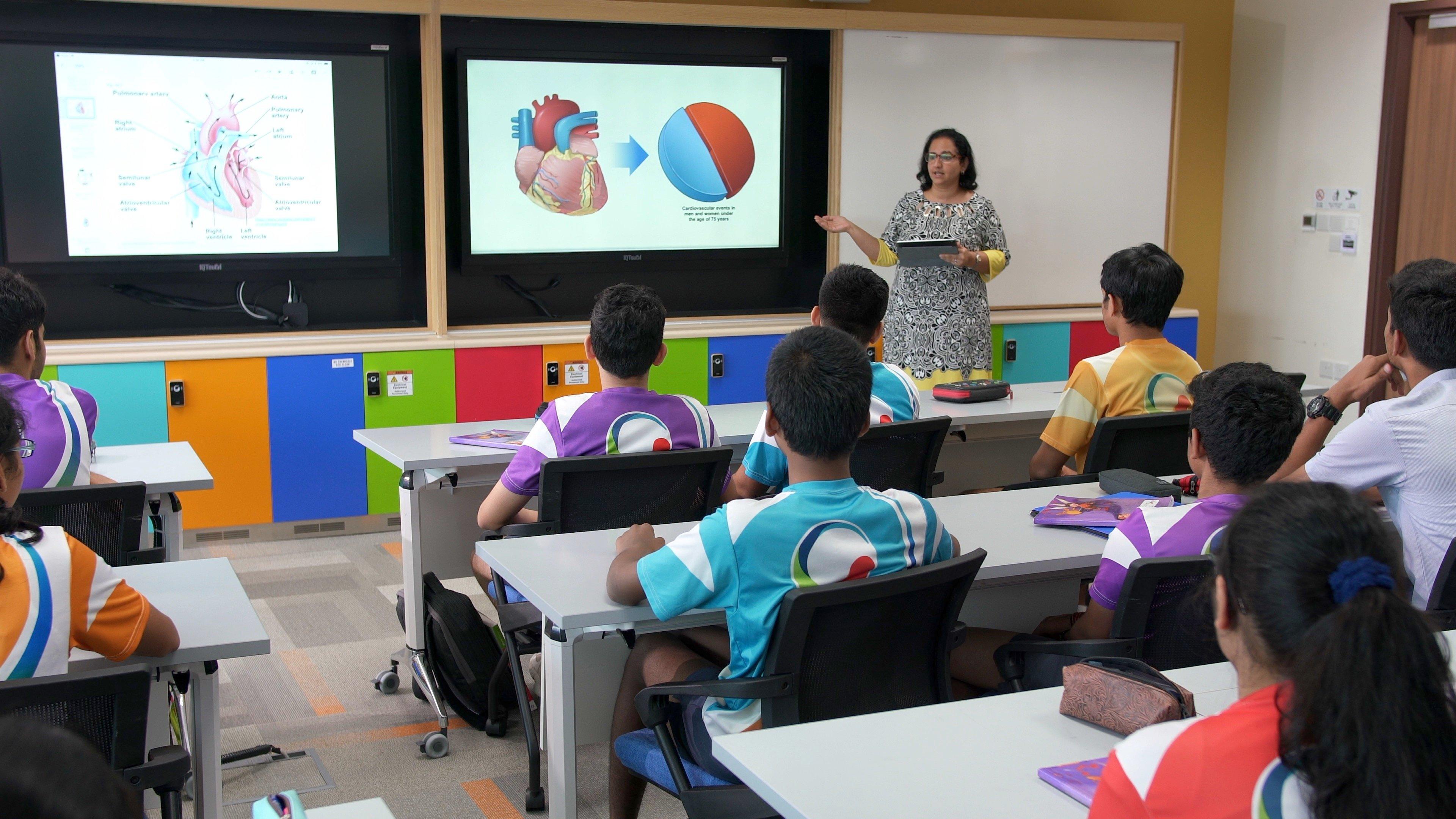 GIIS Classrooms 92