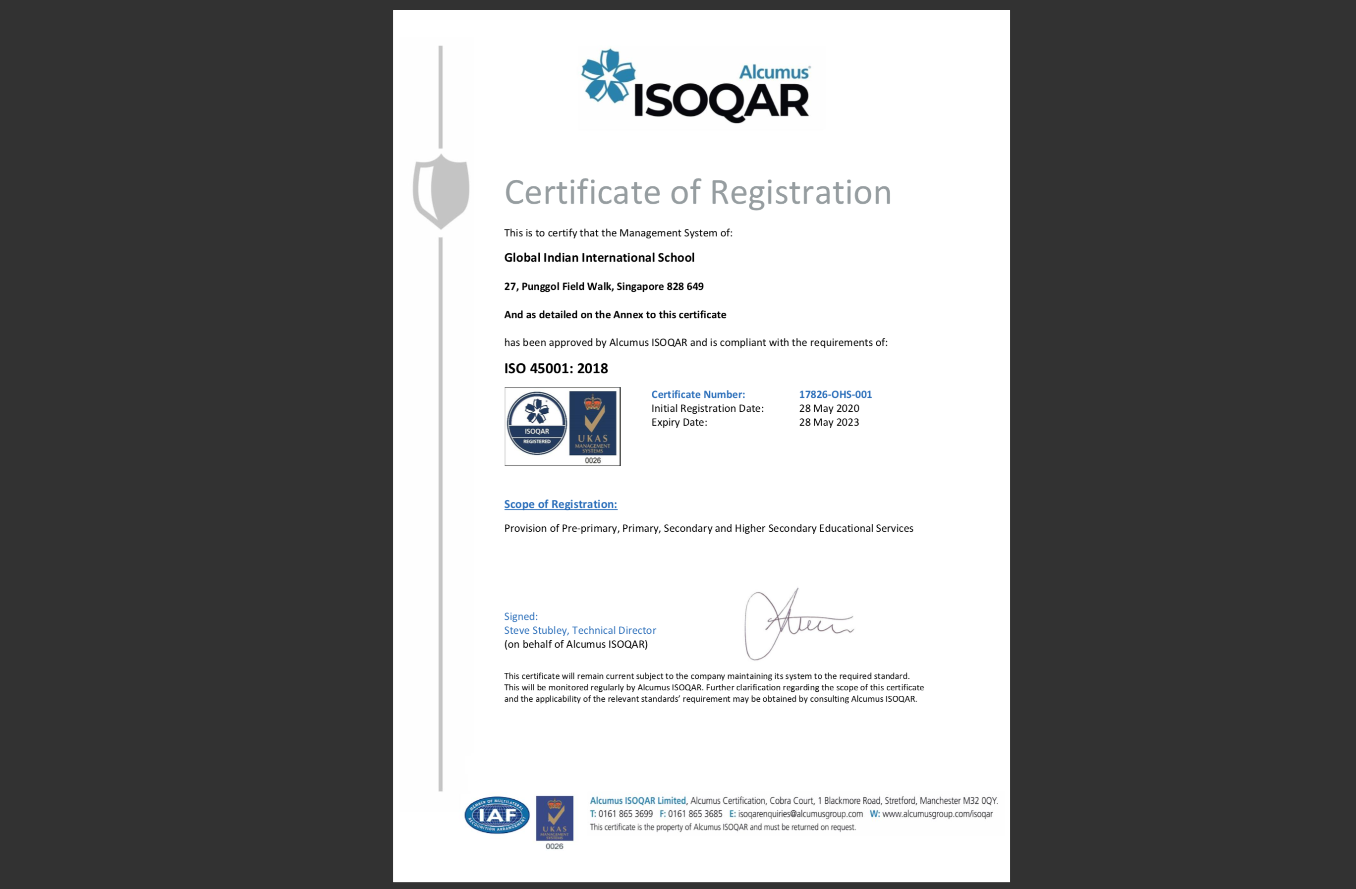 GIIS_ISO Certification